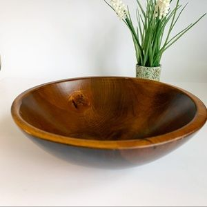 Beautiful Wooden Serving Bowl